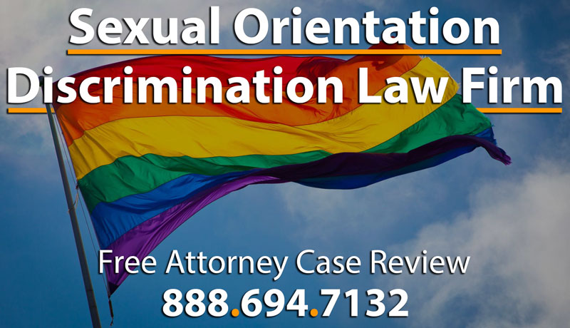 Discrimination cases for sexual orientation