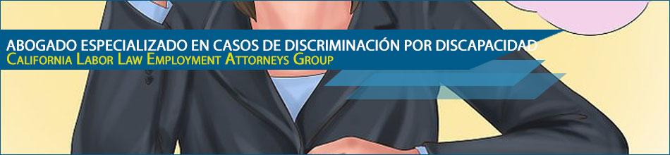 Abogado especializado en casos de discriminación por discapacidad