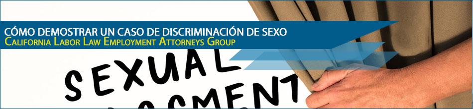 Cómo Demostrar un Caso de Discriminación de Sexo