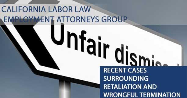 Lawsuit Information Regarding Retaliation in the Workplace