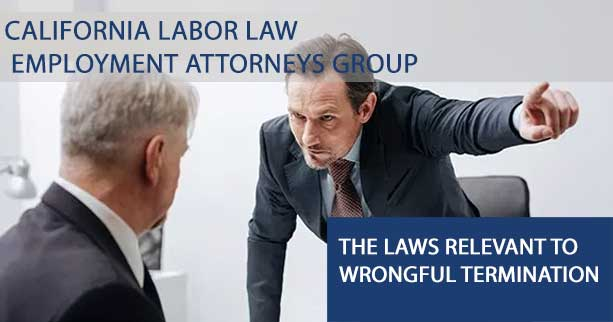 The Laws Relevant to Wrongful Termination
