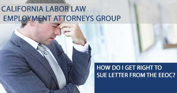 Requesting the Right to Sue from the EEOC