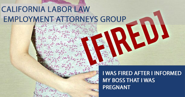 I was fired after I informed my boss that I was pregnant - do I have a case?