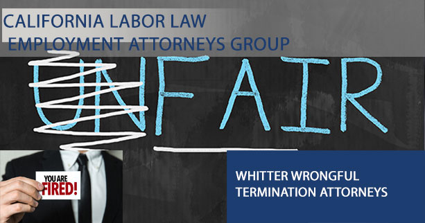 Whitter wrongful termination attorneys