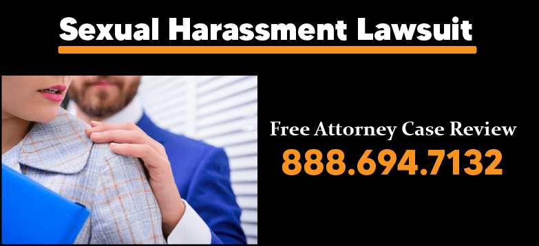 Sexual harassment lawsuit pain suffering therapy medical expenses compensation lawyer sue