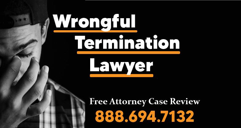 Wrongful termination lawyer autoimmune disease graves psoriasis disorder hepatitis fired laid off compensation maximum sue
