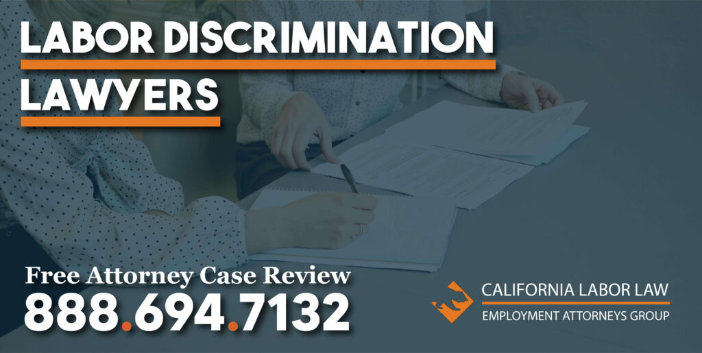 Background Check and Credit Check Discrimination attorney labor law lawyers sue lawsuit