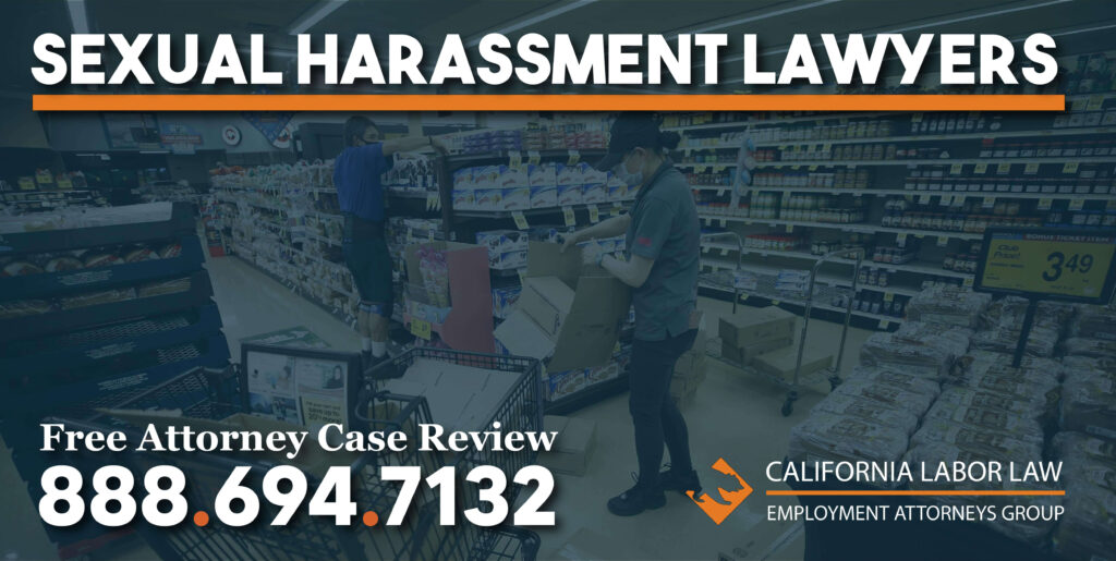 Los Angeles Albertsons and Vons and Pavilions Sexual Harassment Lawyer attorney sue lawsuit