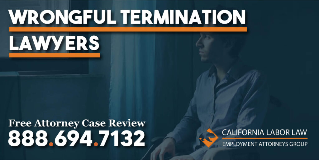 Termination while on Disability justice lawyer attorney sue compensation lawsuit