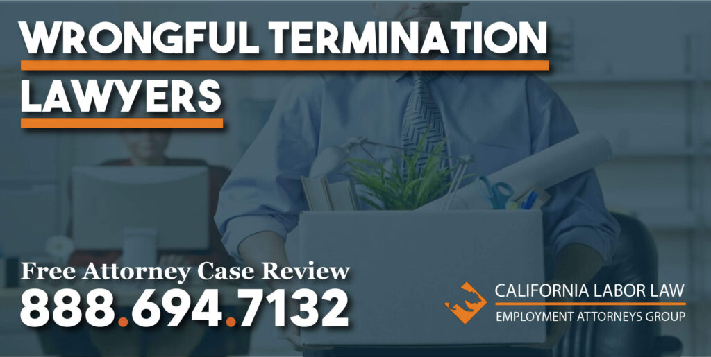 Was I Wrongfully Discharged from My Job lawyer attorney sue lawsuit compensation