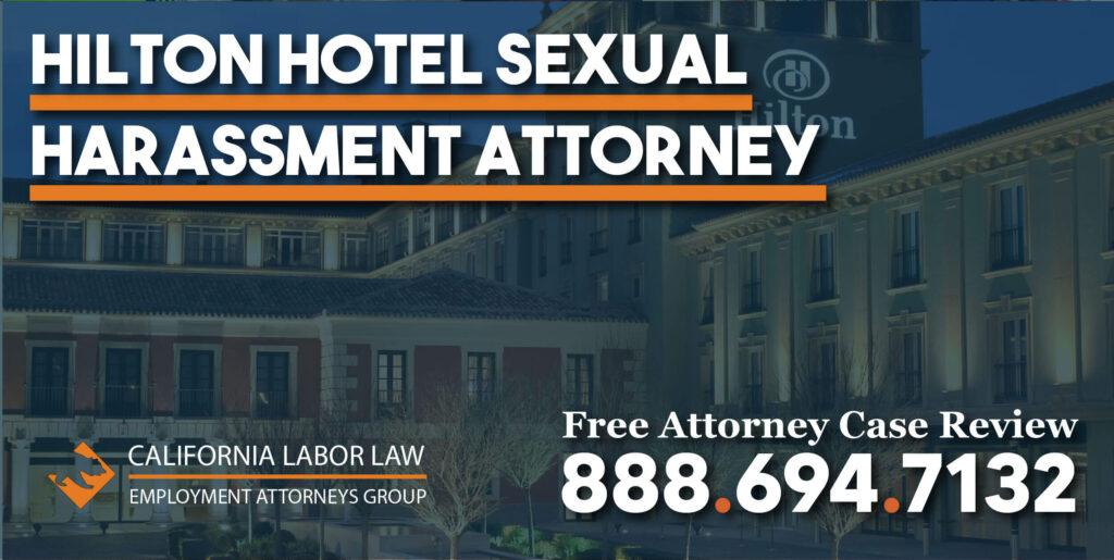 hilton hotel sexual harassment attorney assault pain trauma
