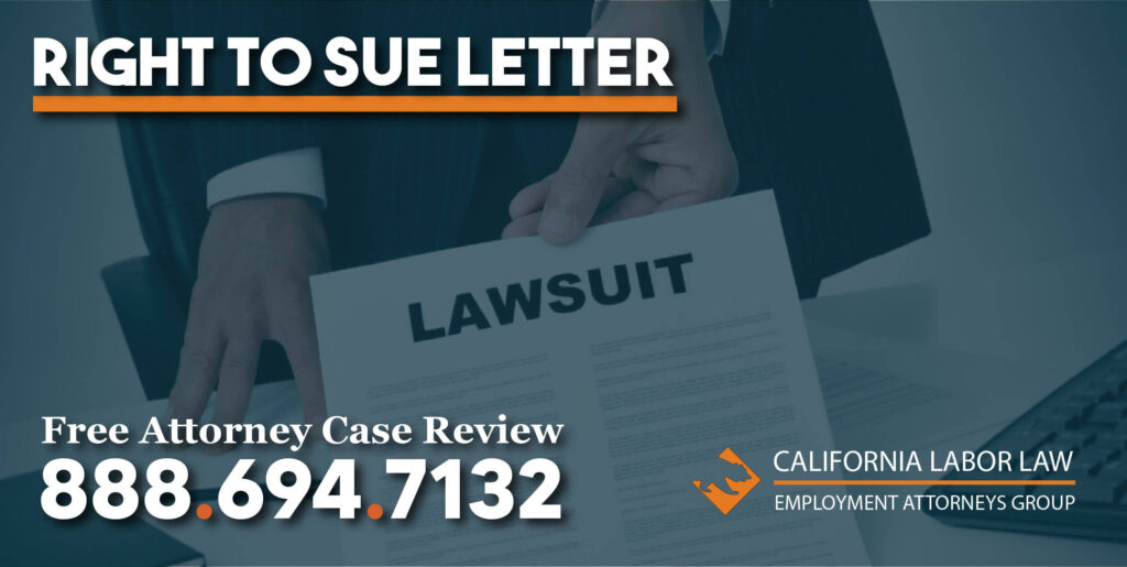 what is a right to sue letter lawyer attorney compensation questions EEOC right-to-sue