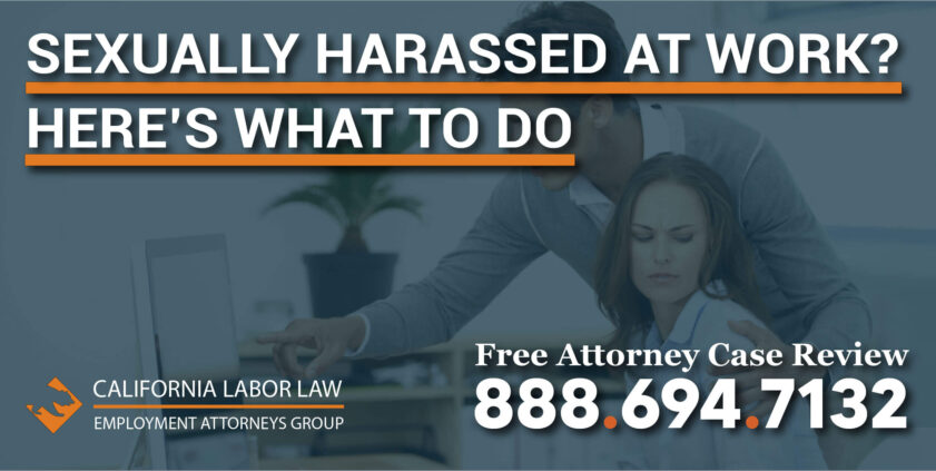 sexually harassed at work what to do employer employee assault