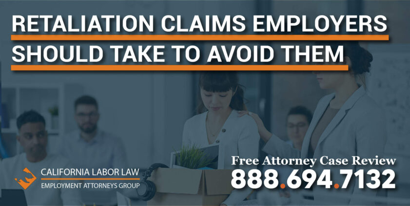Retaliation Claims and Steps Employers Should Take to Avoid or Lessen Them workplace complain violation