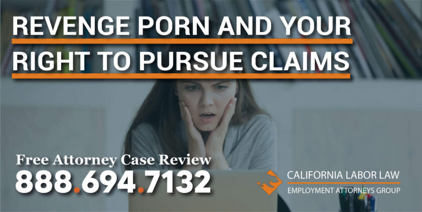 Revenge Porn and Your Right to Pursue Claims lawyer lawsuit attorney liability consent distribute nude permission