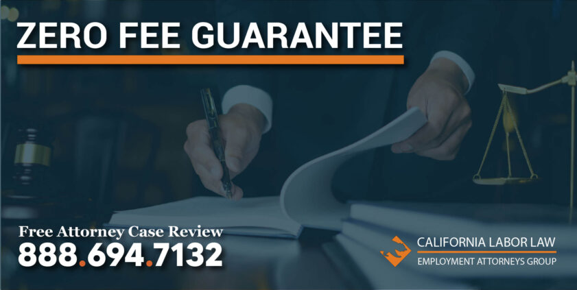 zero fee guarantee lawyer law firm attorney sue best